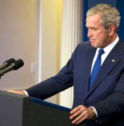 अमेरिकी मीडिया ने बुश के भाषण को सराहा