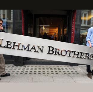 अमेरिकी वित्त व्यवस्था के ट्वि'न टॉवर्स गिरे