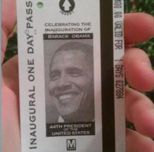 ओबामा के शपथ ग्रहण समारोह की शुरुआत