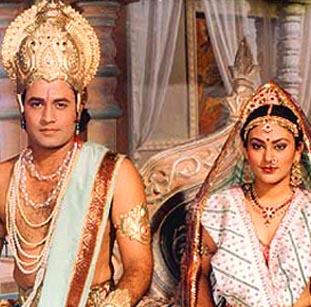 RAMAYANA – Religious themes hit small TV Screen   Ramayana